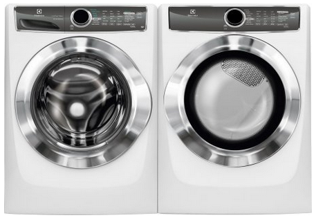 Electrolux ELFS617 and EFME617 Stackable Washer Dryer Set