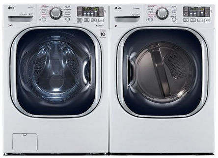 LG WM4270 and DLEX4270 Stackable Washer and Clothes Dryer