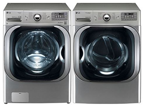 LG WM8000 and DLEX8000 Stackable Washer and Dryer