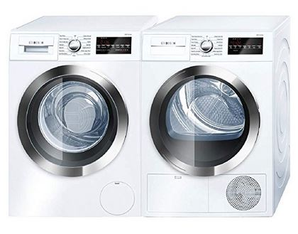 bosch stackable washer and dryer